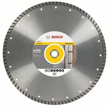 Круг алмазный BOSCH Expert for Universal Turbo  350 Х 20/25.4 турбо