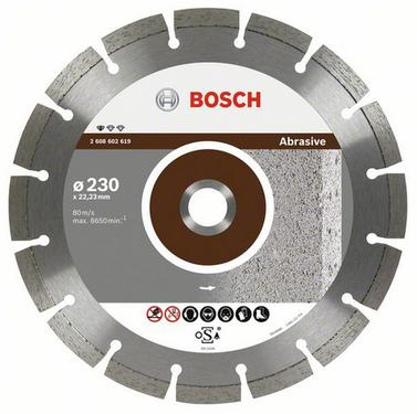 Круг алмазный BOSCH Standard for Abrasive  300 Х 22 сегмент