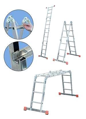 Лестница алюминиевая складная Krause