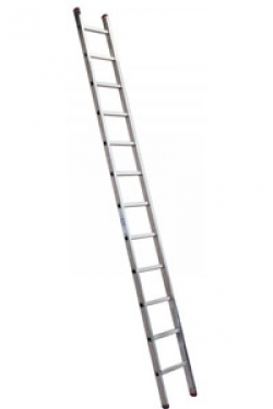 Лестница алюминиевая приставная Krause