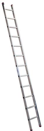 Лестница алюминиевая приставная KrauseЛестницы, стремянки и вышки<br>Тип: лестница,<br>Материал: алюминий,<br>Количество секций: 1,<br>Количество ступеней: 12,<br>Количество ступеней в секции: 12,<br>Приставная: есть<br>