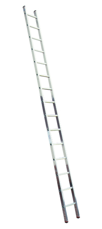 Лестница алюминиевая приставная Krause 127242