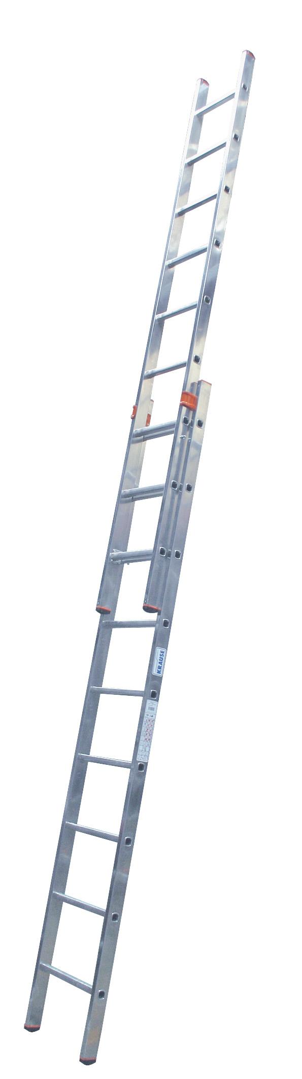 Лестница алюминиевая выдвижная Krause