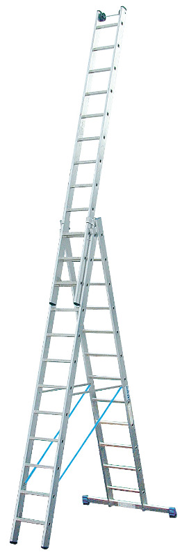 Лестница алюминиевая складная 3х12 Krause