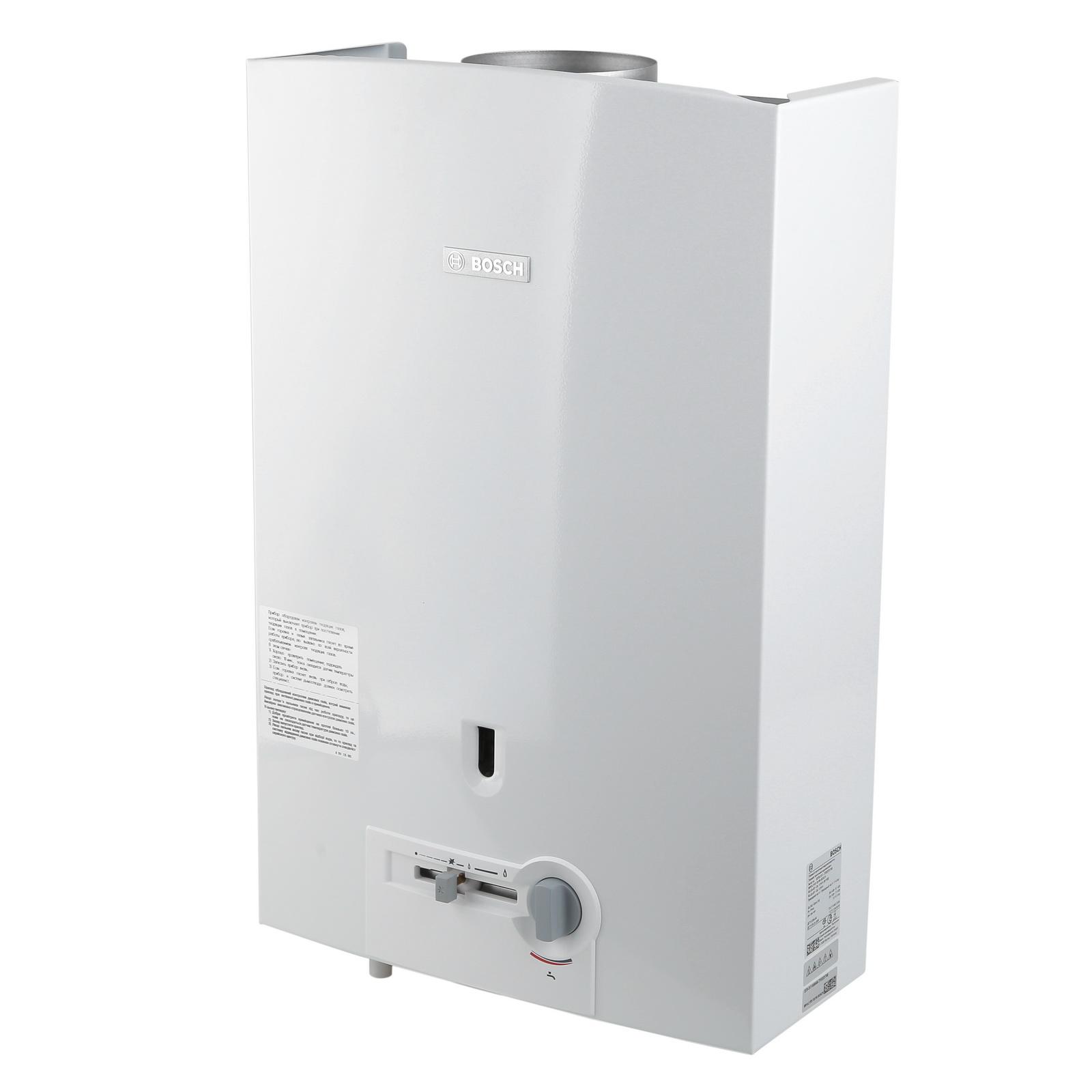 Газовый проточный водонагреватель Bosch