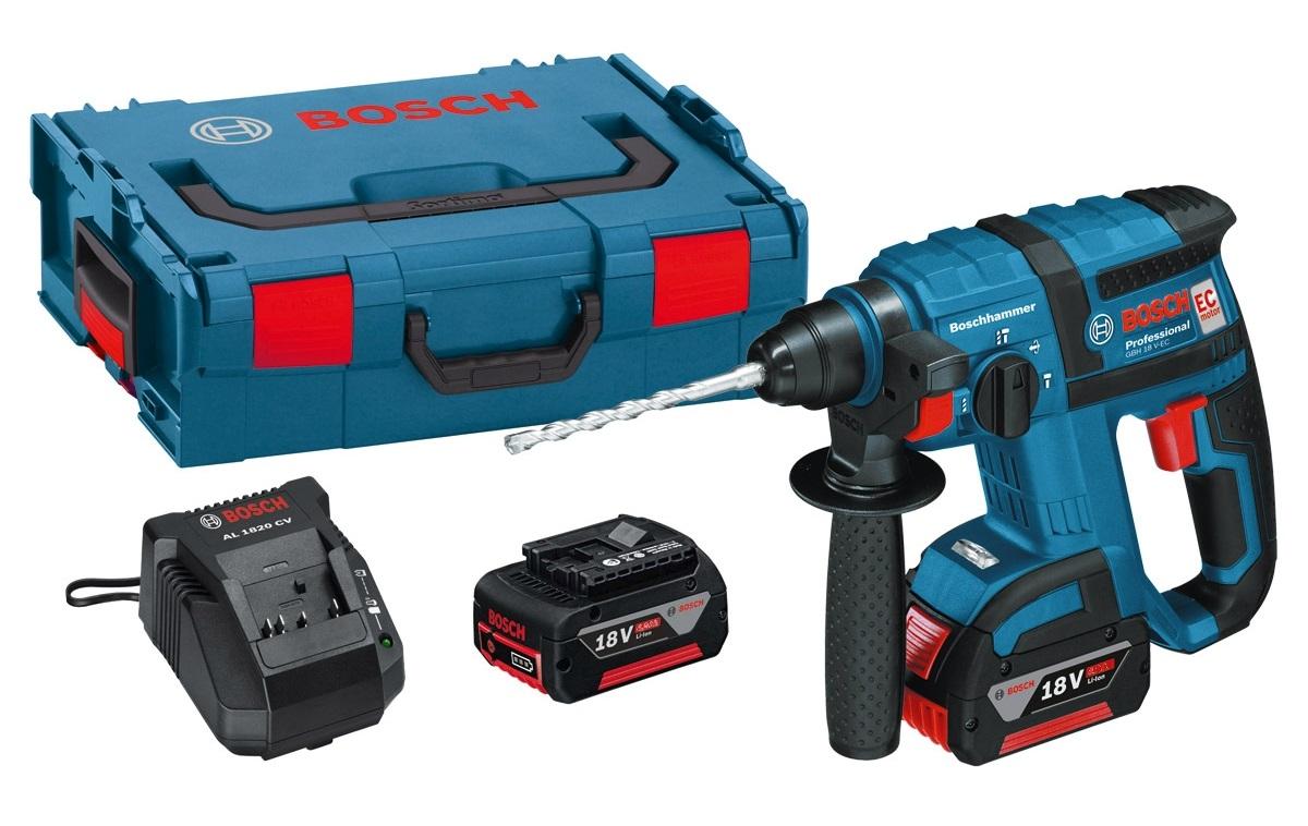 Аккумуляторный перфоратор Bosch Gbh 18 v-ec аккумуляторный 0611904002