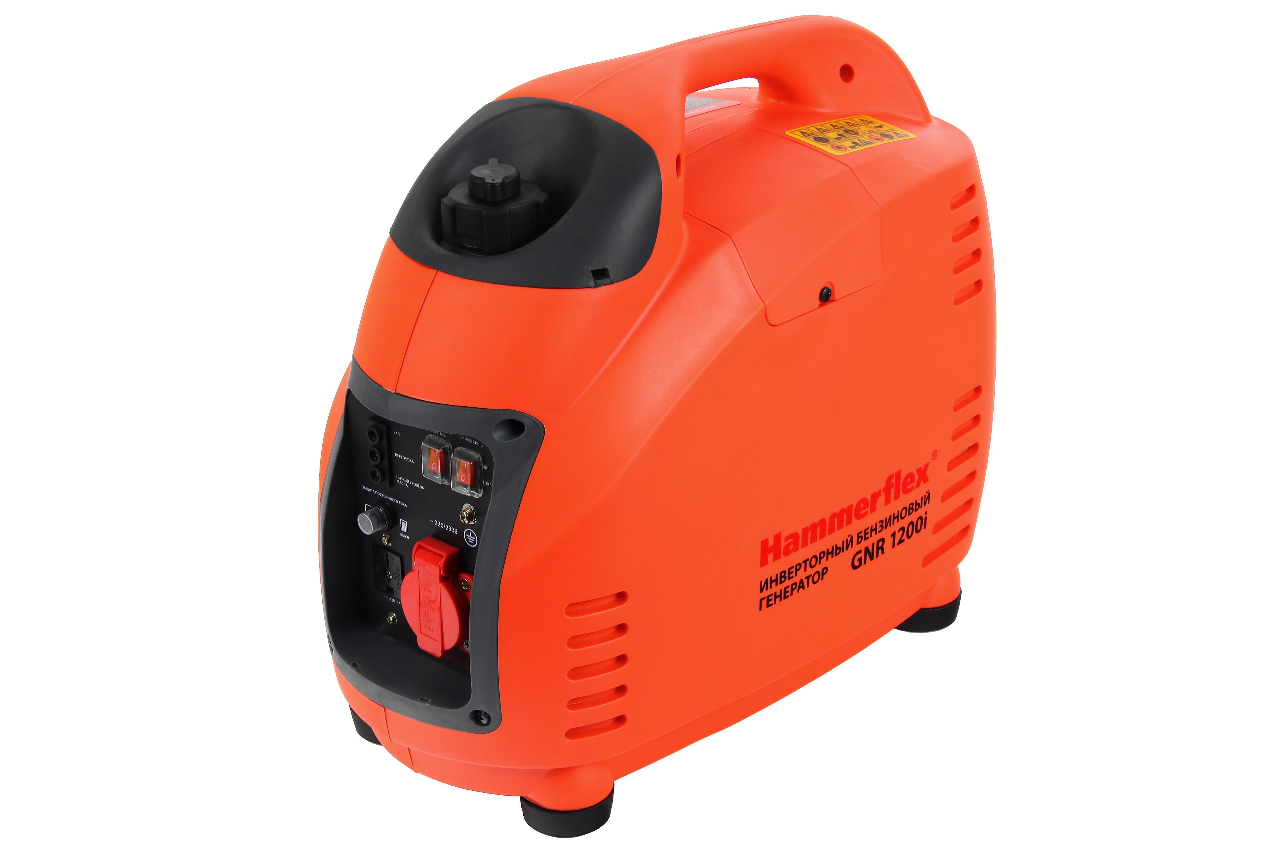 Инверторный генератор Hammer Gnr1200i