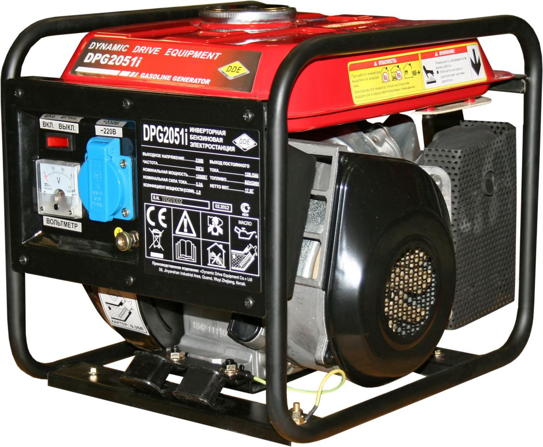 Инверторный генератор Dde Dpg2051i инверторный