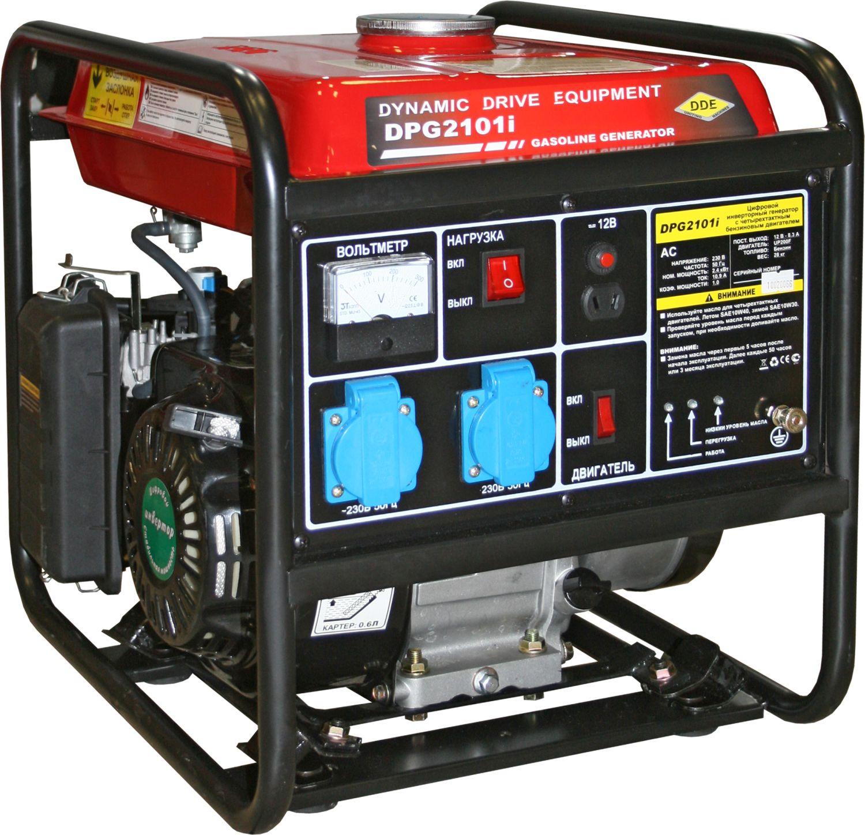 Бензиновый инверторный генератор Dde Dpg2101i инверторный DPG2101i