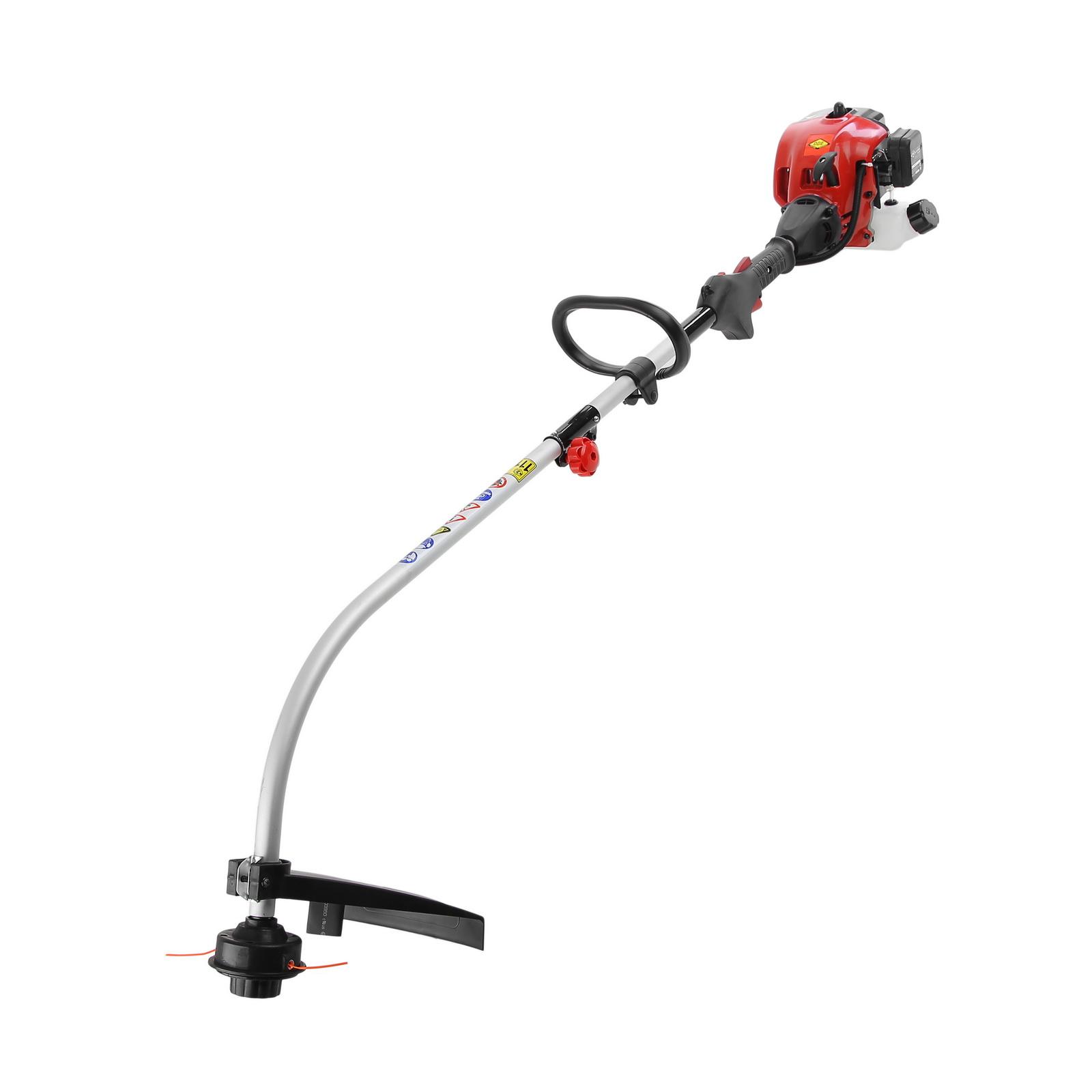 Бензиновый триммер DdeМотокосы (бензотриммеры)<br>Тип триммера: бензиновый, Мощность (лс): 1, Двигатель: 2-х тактный, Рабочий объем: 25, Бак: 0.5, Ширина обработки: 400, Штанга: изогнутая, Разъемная штанга: есть, Форма ручки: D-образная, Тип режущего инструмента: леска, Макс. диаметр лески: 2.0, Уровень шума: 99, Свеча: DDE PR5Y, Легкий запуск: есть, Вес нетто: 4.6<br>