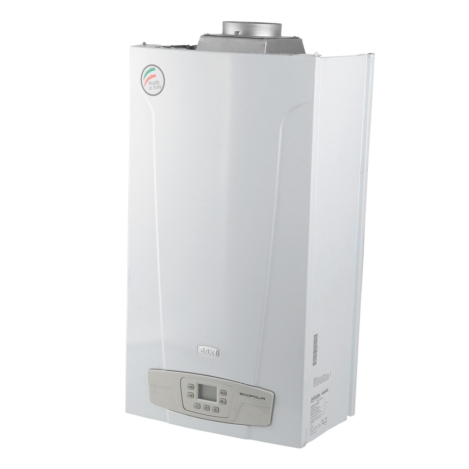 Одноконтурный настенный газовый котел BaxiГазовые котлы<br>Мощность: 14000,<br>Производительность водонагревателя: 12,<br>Тип: котел,<br>Тип установки: настенный,<br>Количество контуров: 1,<br>Температура: 60,<br>Площадь обогрева: 140,<br>Дымоход: нет,<br>Автоматический поджиг: есть,<br>Материал теплообменника: нерж.сталь,<br>Родина бренда: Италия,<br>Размеры: 730 х 400 х 299<br>