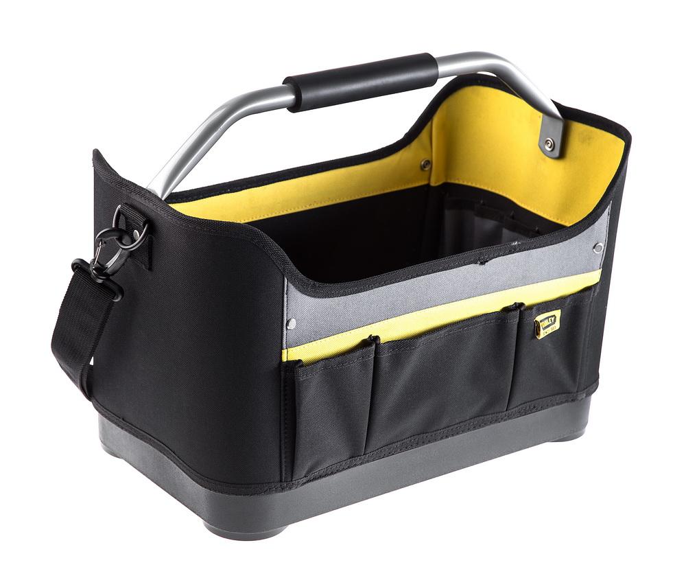 Сумка для инструмента StanleyСумки для инструмента<br>Форм-фактор: сумка, Назначение: для электриков, Длина (мм): 447, Ширина: 277, Высота: 251, Материал: нейлон<br>