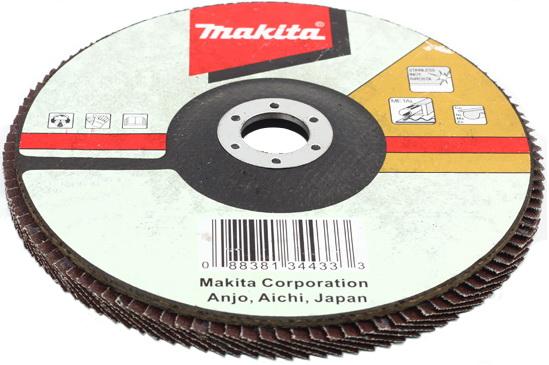 Makita d-27121 180 x 22, k36, Круг Лепестковый Торцевой (КЛТ)