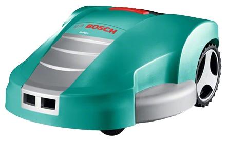 Газонокосилка BoschГазонокосилки<br>Аккумулятор: 32,<br>Емкость аккумулятора: 3,<br>Тип аккумулятора: LiION,<br>Тип двигателя: электрический,<br>Ширина обработки: 260,<br>Мин. высота среза: 20,<br>Макс. высота среза: 60,<br>Регулировка высоты скашивания: есть,<br>Вес нетто: 12,<br>Площадь: 1000,<br>Материал корпуса: пластик,<br>Питание от аккумулятора: есть,<br>Самоходный: да,<br>Газонокосилка робот: есть,<br>Большие задние колеса: есть<br>