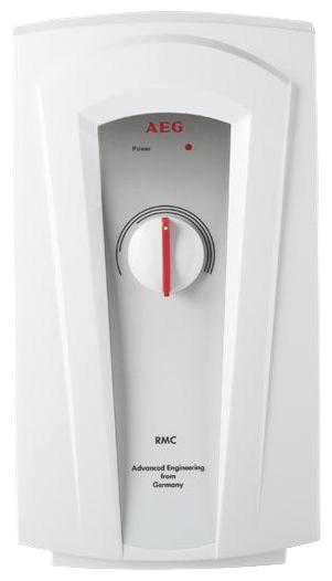 Электрический проточный водонагреватель AegВодонагреватели проточные<br>Тип: электрический,<br>Тип водонагревателя: Закрытый,<br>Мощность: 7500,<br>Способ подачи воды: напорный,<br>Напряжение: 220,<br>Тип установки: над раковиной,<br>Макс. давление воды: 10,<br>Дисплей: нет,<br>Пульт ДУ: нет,<br>Фильтр для воды: нет,<br>Защита от перегрева: есть,<br>Ускоренный нагрев: нет,<br>Электронное управление: есть,<br>Самодиагностика: нет,<br>Высота: 360,<br>Ширина: 200,<br>Глубина: 106<br>