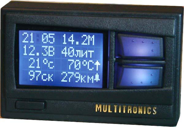 Бортовой компьютер Multitronics Comfort x10 27