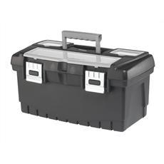 Ящик KeterЯщики и кейсы<br>Назначение: для ручного инструмента,<br>Форм-фактор: ящик(кейс),<br>Длина (мм): 486,<br>Ширина: 262,<br>Высота: 248,<br>Материал: пластик<br>