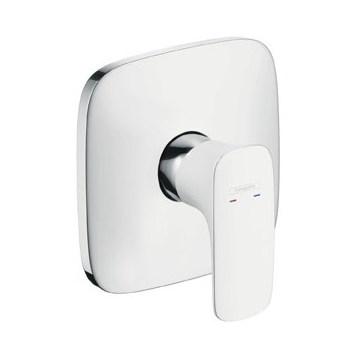 Смеситель для ванны HansgroheСмесители<br>Назначение смесителя: для душа,<br>Тип управления смесителя: однорычажный,<br>Цвет покрытия: белый,<br>Стиль смесителя: модерн,<br>Монтаж смесителя: вертикальный,<br>Тип установки смесителя: скрытая установка,<br>Материал смесителя: латунь,<br>Излив: традиционный,<br>Родина бренда: Германия<br>