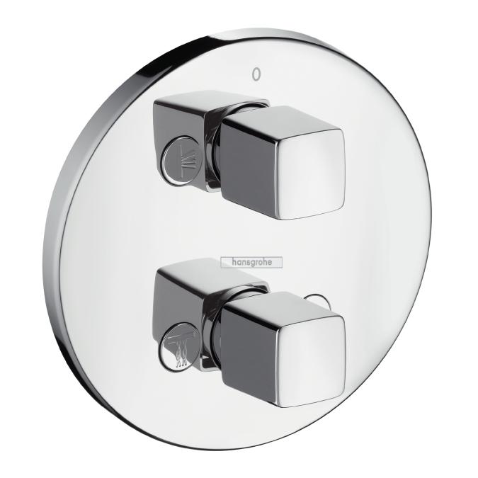 Вентиль HansgroheКомпоненты смесителей<br>Тип компонента: вентиль,<br>Цвет покрытия: хром,<br>Наличие термостата: нет,<br>Выдвижной душ: нет,<br>Донный клапан: нет<br>
