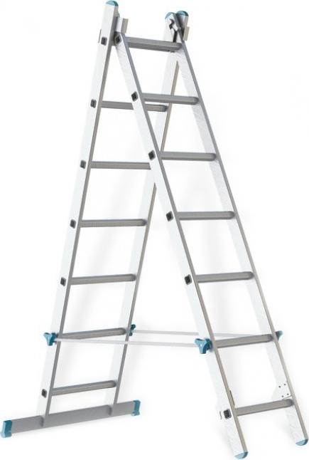 Лестница алюминиевая складная Rigger