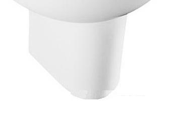 Полупьедестал Jacob delafonРаковины (умывальники)<br>Тип: полупьедестал,<br>Назначение умывальника(раковины): для ванной,<br>Цвет: белый,<br>Отверстие под смеситель: нет,<br>Материал: керамика<br>