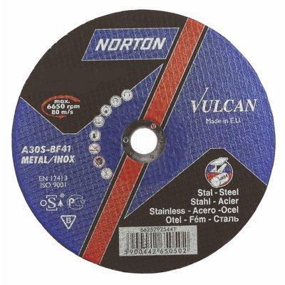 Norton vulkan 66252925529 230 x 6.4 x 22, Круг зачистной