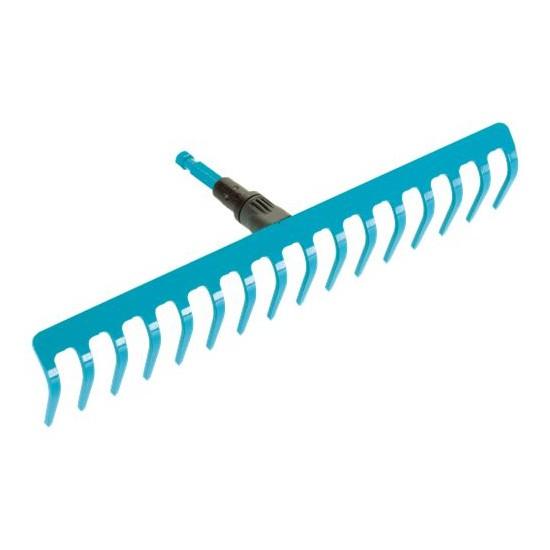 Грабли GardenaГрабли<br>Тип: грабли, Конструкция: прямые, Материал зубцов: металл, Количество зубьев: 16<br>