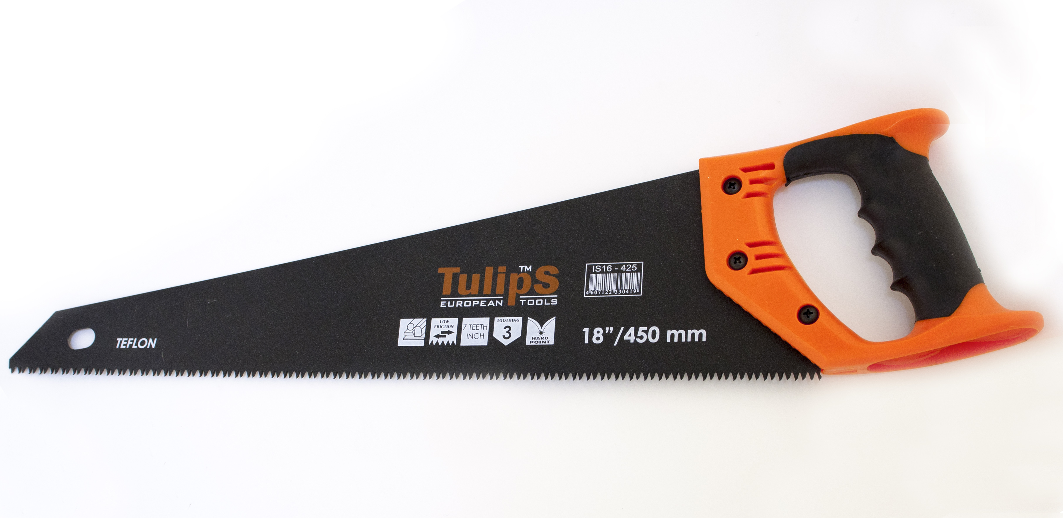 Ножовка по дереву Tulips toolsНожовки ручные<br>Длина (мм): 450,<br>Назначение: дерево,<br>Тип ножовки: ножовка<br>
