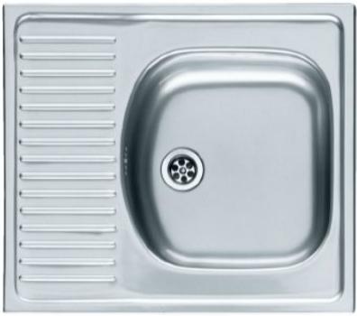 Мойка кухонная врезная FrankeМойки кухонные<br>Тип установки кухонной мойки: врезной, Материал изготовления кухонной мойки: нержавеющая сталь, Отверстие под смеситель: нет, Форма кухонной мойки: прямоугольная, Количество чаш кухонной мойки: одна чаша, Длина (мм): 510, Ширина: 580, Глубина: 145, Цвет: сталь, Страна происхождения: Германия, Диаметр сливного отверстия: 1 1/2<br>