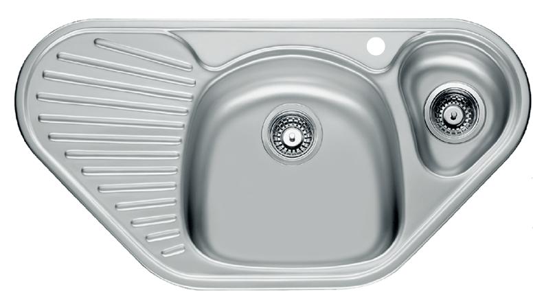 Мойка кухонная угловая FrankeМойки кухонные<br>Тип установки кухонной мойки: врезной,<br>Материал изготовления кухонной мойки: нержавеющая сталь,<br>Отверстие под смеситель: да,<br>Форма кухонной мойки: угловая,<br>Количество чаш кухонной мойки: две чаши,<br>Длина (мм): 960,<br>Ширина: 500,<br>Глубина: 150,<br>Цвет: сталь,<br>Страна происхождения: Германия,<br>Диаметр сливного отверстия: 3 1/2<br>