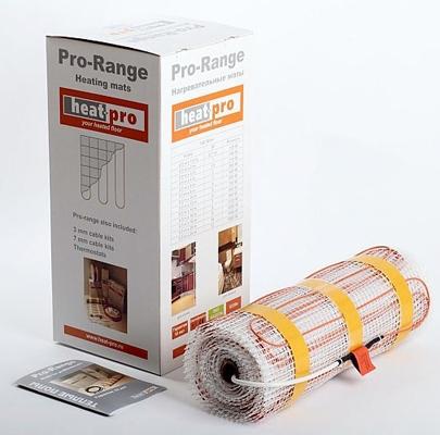 Теплый пол кабельный электрический Heat-proТеплые полы<br>Мощность: 980, Толщина: 2.9, Тип покрытия: плитка/керамогранит, Способ монтажа нагревателя: в стяжку или плиточный клей, Тип нагревательного мата: кабельный, Рулонный/термомат: есть, Количество жил: 2, Под плитку: есть, Под керамогранит: есть, Размеры: 14000х500, Родина бренда: Финляндия<br>