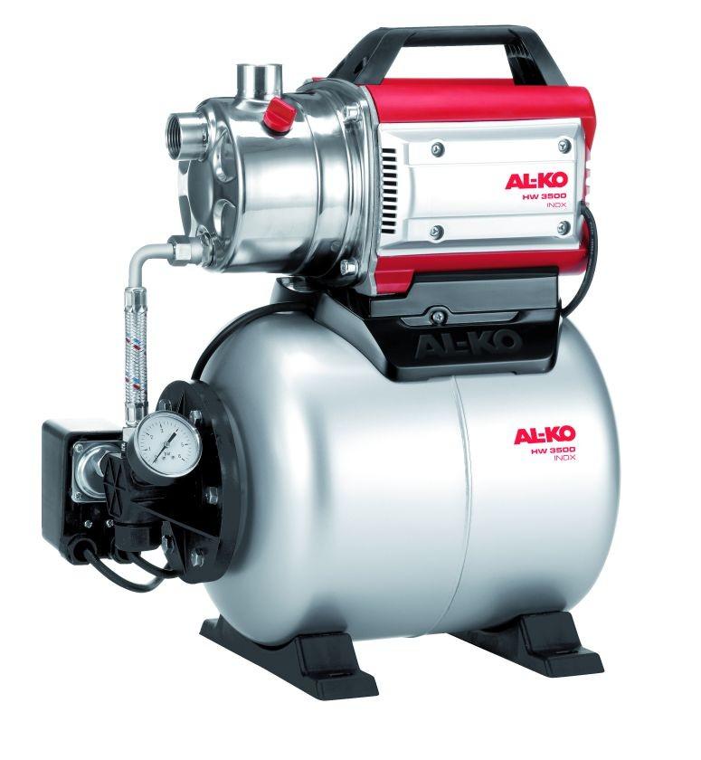Насосная станция Al-koНасосные станции<br>Мощность: 850,<br>Назначение по воде: чистая вода,<br>Макс. производительность по воде: 3400,<br>Тип насоса: поверхностный,<br>Макс. глубина: 8,<br>Макс. высота: 38,<br>Бак: 17,<br>Материал корпуса: нержавеющая сталь,<br>Диаметр на выходе (в дюймах): 1<br>