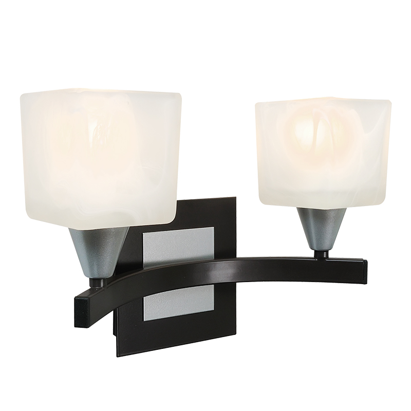 Бра СЕВЕРНЫЙ СВЕТНастенные светильники и бра<br>Тип: бра,<br>Назначение светильника: для комнаты,<br>Стиль светильника: хай-тек,<br>Материал светильника: металл, стекло,<br>Тип лампы: накаливания,<br>Количество ламп: 2,<br>Мощность: 60,<br>Патрон: Е14,<br>Цвет арматуры: дерево,<br>Высота: 210,<br>Коллекция: аллегро<br>