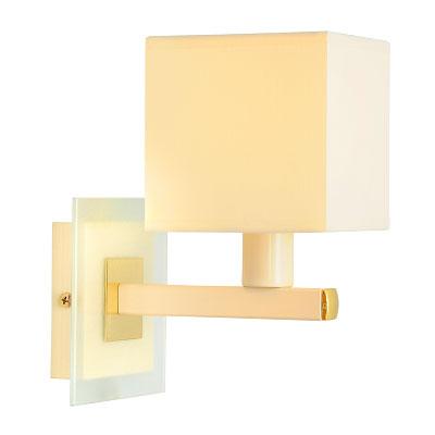 Бра СЕВЕРНЫЙ СВЕТНастенные светильники и бра<br>Тип: бра, Назначение светильника: для комнаты, Стиль светильника: классика, Материал светильника: металл, ткань, Тип лампы: накаливания, Количество ламп: 1, Мощность: 60, Патрон: Е14, Цвет арматуры: бежевый, Высота: 230, Коллекция: квадро<br>