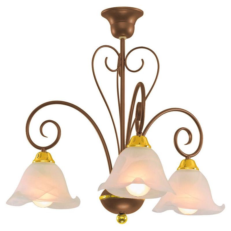 Люстра СЕВЕРНЫЙ СВЕТЛюстры<br>Назначение светильника: для гостиной, Стиль светильника: классика, Тип: подвесная, Материал светильника: металл, стекло, Материал плафона: стекло, Материал арматуры: металл, Диаметр: 490, Высота: 580, Количество ламп: 3, Тип лампы: накаливания, Мощность: 60, Патрон: Е27, Цвет арматуры: медь, Родина бренда: Россия, Коллекция: агат<br>