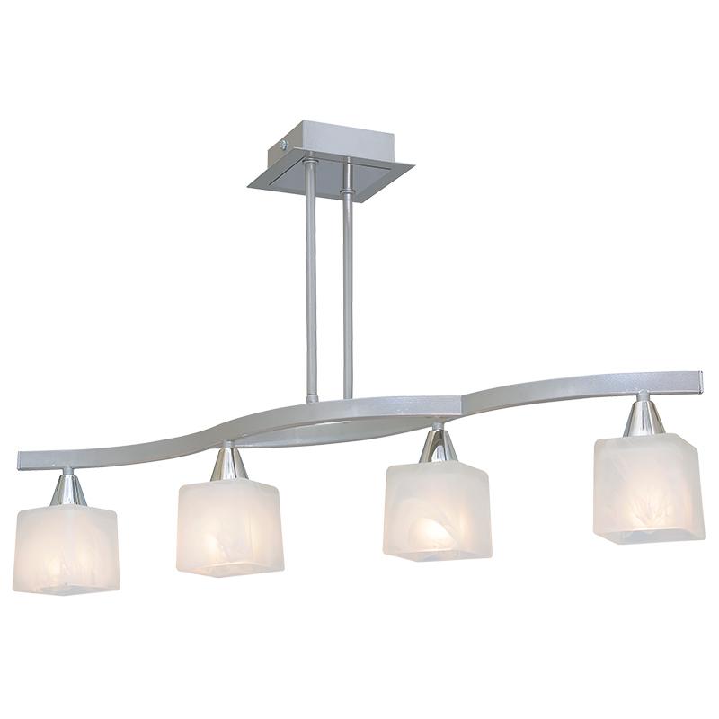 Люстра СЕВЕРНЫЙ СВЕТЛюстры<br>Назначение светильника: для комнаты,<br>Стиль светильника: хай-тек,<br>Тип: потолочная,<br>Материал светильника: металл, стекло,<br>Материал плафона: стекло,<br>Материал арматуры: металл,<br>Ширина: 740,<br>Высота: 410,<br>Количество ламп: 4,<br>Тип лампы: накаливания,<br>Мощность: 60,<br>Патрон: Е14,<br>Цвет арматуры: хром<br>