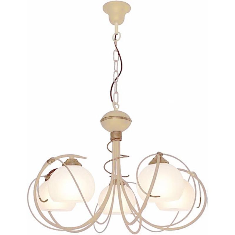 Люстра СЕВЕРНЫЙ СВЕТЛюстры<br>Назначение светильника: для гостиной,<br>Стиль светильника: модерн,<br>Тип: подвесная,<br>Материал светильника: металл, стекло,<br>Материал плафона: стекло,<br>Материал арматуры: металл,<br>Диаметр: 600,<br>Высота: 800,<br>Количество ламп: 5,<br>Тип лампы: накаливания,<br>Мощность: 60,<br>Патрон: Е27,<br>Цвет арматуры: бежевый<br>