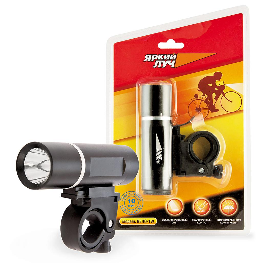 Фонарь ЯРКИЙ ЛУЧФонари<br>Источники питания: AAA,<br>Тип лампы: светодиодная,<br>Тип: велосипедный<br>