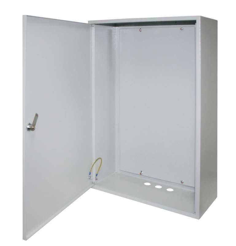 Щит EkfЩиты электрические, боксы<br>Тип: щит,<br>Тип установки: навесной,<br>Материал: металл,<br>Степень защиты от пыли и влаги: IP 31,<br>Использование: в помещении,<br>Высота: 500,<br>Ширина: 400,<br>Глубина: 170,<br>Толщина: 0.8,<br>Замок: есть,<br>Окно: нет,<br>DIN рейка: нет,<br>Габариты монтажной панели: 452х332,<br>Вес нетто: 7.2<br>