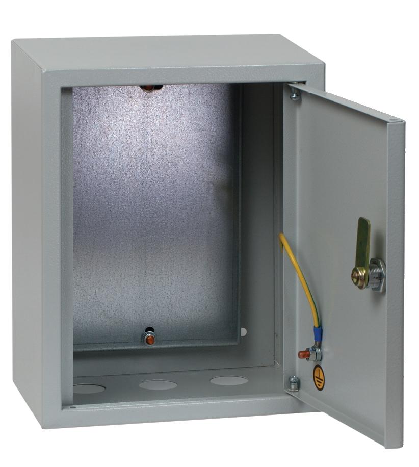 Щит EkfЩиты электрические, боксы<br>Тип: щит,<br>Тип установки: навесной,<br>Материал: металл,<br>Степень защиты от пыли и влаги: IP 31,<br>Использование: в помещении,<br>Высота: 300,<br>Ширина: 210,<br>Глубина: 140,<br>Толщина: 0.8,<br>Замок: есть,<br>Окно: нет,<br>DIN рейка: нет,<br>Габариты монтажной панели: 252х142,<br>Вес нетто: 2.5<br>