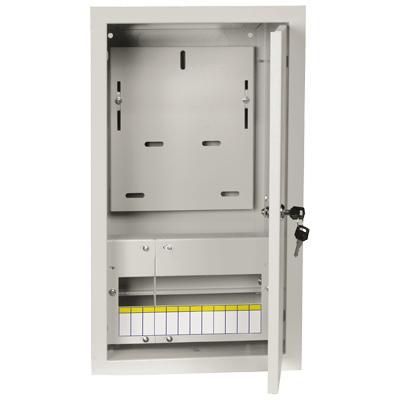 Щит электрический встраиваемый IekЩиты электрические, боксы<br>Тип: щит,<br>Тип установки: встраиваемый,<br>Материал: металл,<br>Степень защиты от пыли и влаги: IP 30,<br>Использование: в помещении,<br>Высота: 480,<br>Ширина: 320,<br>Глубина: 165,<br>Толщина: 1,<br>Замок: есть,<br>Окно: нет,<br>DIN рейка: одна,<br>Количество модулей: 12<br>