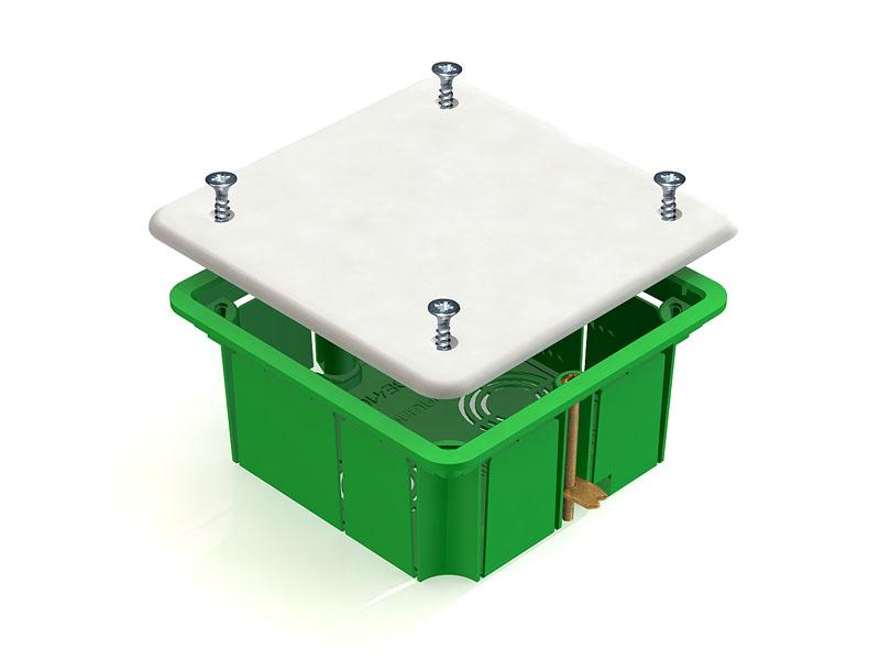 Коробка распаячная Greenel