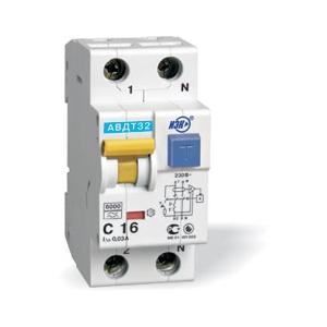 Диф. автомат IekАвтоматические выключатели<br>Номинальный ток: 10,<br>Тип выключателя: дифавтомат,<br>Количество полюсов: 2,<br>Номинальная отключающая способность: 6000,<br>Номинальный отключающий дифференциальный ток: 30,<br>Степень защиты от пыли и влаги: IP 20,<br>Количество модулей: 2<br>