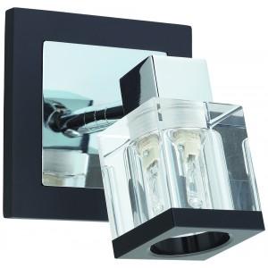 Бра МАКСИСВЕТНастенные светильники и бра<br>Тип: бра,<br>Назначение светильника: для гостиной,<br>Стиль светильника: модерн,<br>Материал светильника: металл, дерево, стекло,<br>Тип лампы: галогенные и светодиодные,<br>Количество ламп: 1,<br>Мощность: 40,<br>Патрон: G9,<br>Цвет арматуры: хром,<br>Ширина: 115,<br>Высота: 100,<br>Удаление от стены: 120<br>
