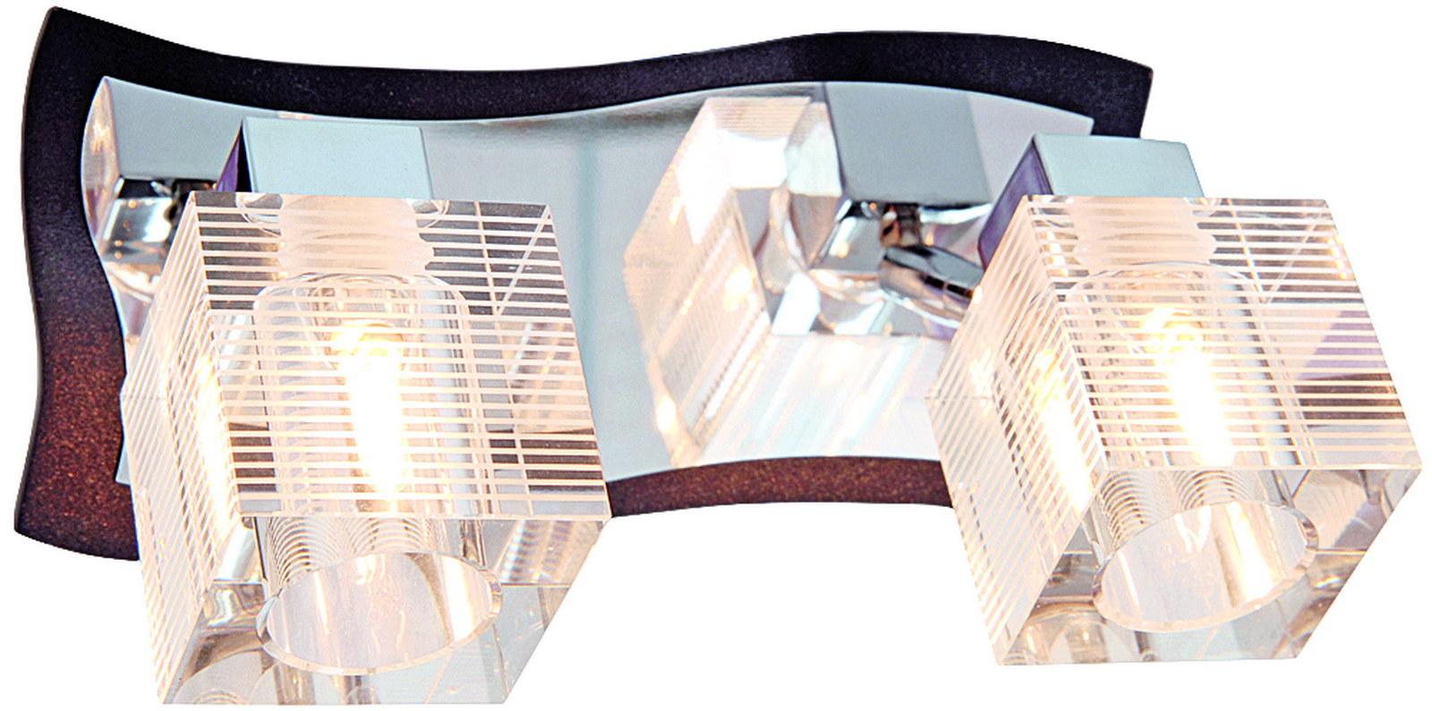 Бра МАКСИСВЕТНастенные светильники и бра<br>Тип: бра,<br>Назначение светильника: для гостиной,<br>Стиль светильника: модерн,<br>Материал светильника: металл, дерево, стекло,<br>Тип лампы: галогенные и светодиодные,<br>Количество ламп: 2,<br>Мощность: 40,<br>Патрон: G9,<br>Цвет арматуры: хром,<br>Ширина: 150,<br>Высота: 210,<br>Удаление от стены: 110,<br>Коллекция: 5061w<br>