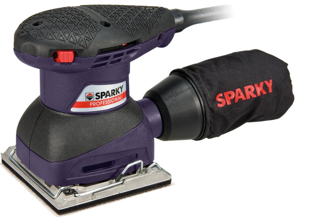Машинка шлифовальная плоская (вибрационная) Sparky