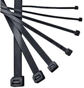 Хомут IekАксессуары для электромонтажа<br>Тип аксессуара: хомут, Степень защиты от пыли и влаги: IP 20, Цвет: черный<br>
