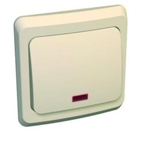 Выключатель Schneider electricЭлектроустановочные изделия<br>Тип изделия: выключатель,<br>Способ монтажа: скрытой установки,<br>Цвет: кремовый,<br>Сила тока: 10,<br>Степень защиты от пыли и влаги: IP 20,<br>Количество клавиш: 1,<br>Выходная мощность максимально: 2200,<br>Напряжение: 220<br>