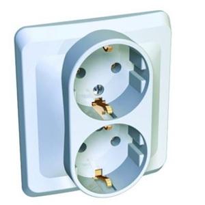 Розетка Schneider electricЭлектроустановочные изделия<br>Тип изделия: розетка,<br>Способ монтажа: скрытой установки,<br>Цвет: белый,<br>Заземление: есть,<br>Сила тока: 16,<br>Количество гнезд: 2,<br>Выходная мощность максимально: 3500,<br>Напряжение: 220,<br>Коллекция: этюд<br>