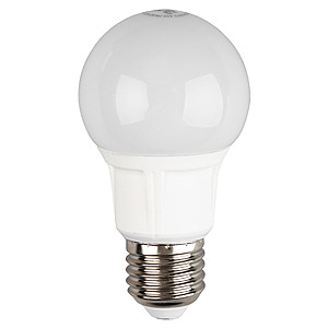 Лампа светодиодная ЭРАЛампы<br>Тип лампы: светодиодная,<br>Форма лампы: груша,<br>Цвет колбы: белая,<br>Тип цоколя: Е27,<br>Напряжение: 220,<br>Мощность: 8,<br>Цветовая температура: 2700,<br>Цвет свечения: теплый,<br>Вес нетто: 0.05<br>